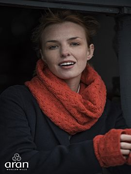 Super Soft Irish Snood Orange