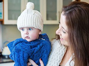 Kids aran handknitted Hat