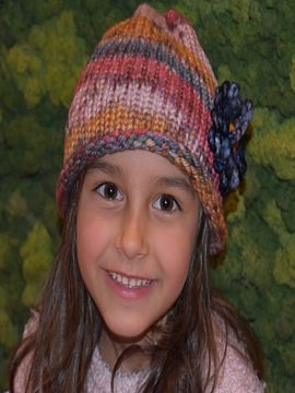 Handmade Super Soft Merino Wool Children's Hat Autumn