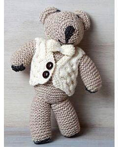 Kids Aran Hand made Teddy Bear