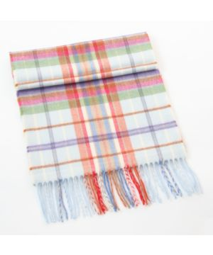 Made in Ireland Extra Fine Merino Wool Colourful Scarf