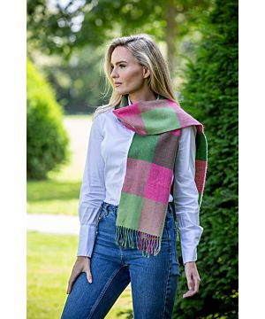 Made in Ireland EXTRA FINE MERINO WOOL SCARF 153