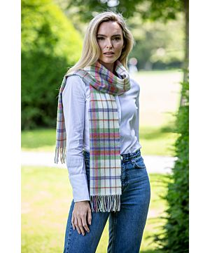 Made in Ireland EXTRA FINE MERINO WOOL SCARF 145