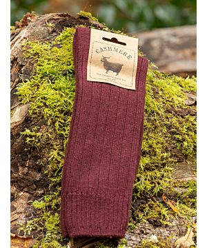 Luxury Mens Cashmere Socks - Brown (Size 40-45)