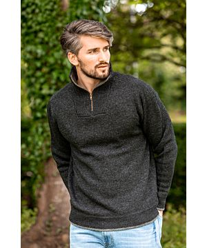 Halfzip Sweater Lambswool A227