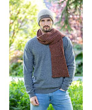 Made in Ireland 100% Merino Wool Scarf