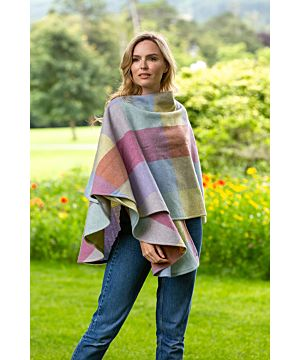 100% Lambswool Cape made In Ireland