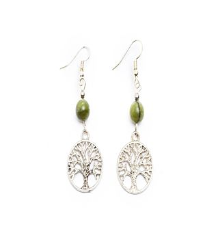 Large Celtic Tree of Life Earings