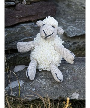 Aran Handknit Sheep Teddy R457