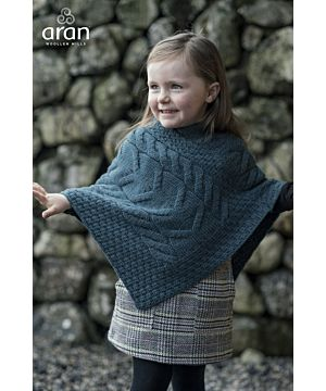 Super Soft Kids Merino Poncho