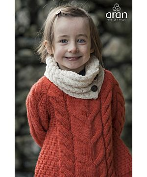 Aran Kids Super Soft Merino Snood