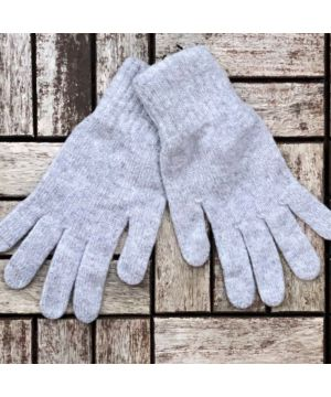 Ladies Cashmere Gloves - grey