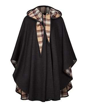 Jimmy Hourihan Cape - Charcoal