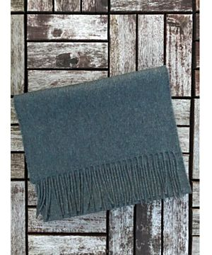 Luxurious 100% Cashmere Scarf - Atlantic Blue