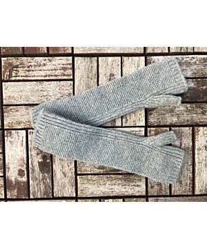 100% Cashmere Hand Warmers - Light Grey