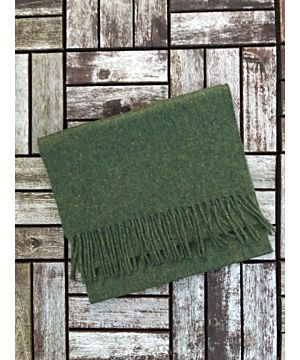 Luxurious 100% Cashmere Scarf - Dark Green