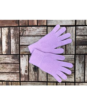 Ladies Cashmere Gloves Lilac
