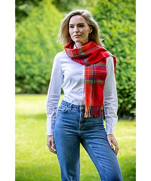 100% lambswool Red, Green & Blue 207