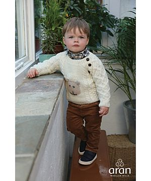 Kids Handknit Merino Sweater Made in Ireland R726