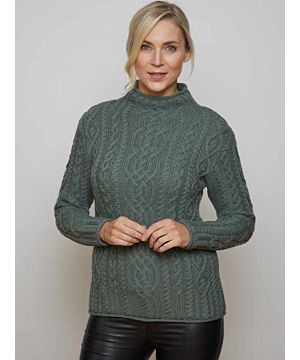 Super Soft Funnel Neck Sweater Thundra