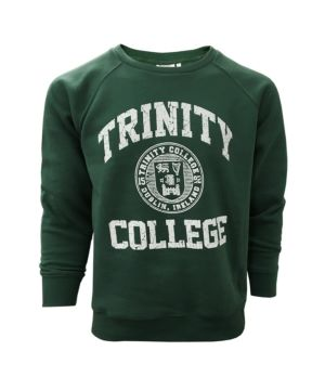 Green Trinity College Crew Neck Sweatshirt