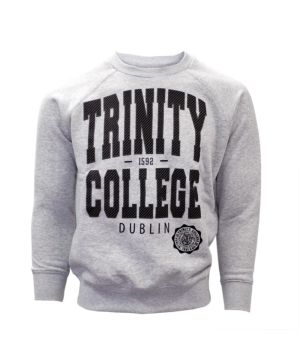 Trinity Crew Neck Sweatshirt Grey