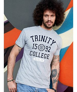 Trinity College T-Shirt Grey