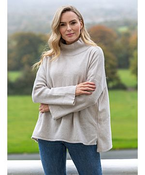 Super Soft Merino Wool / Cashmere Sweater - Beige