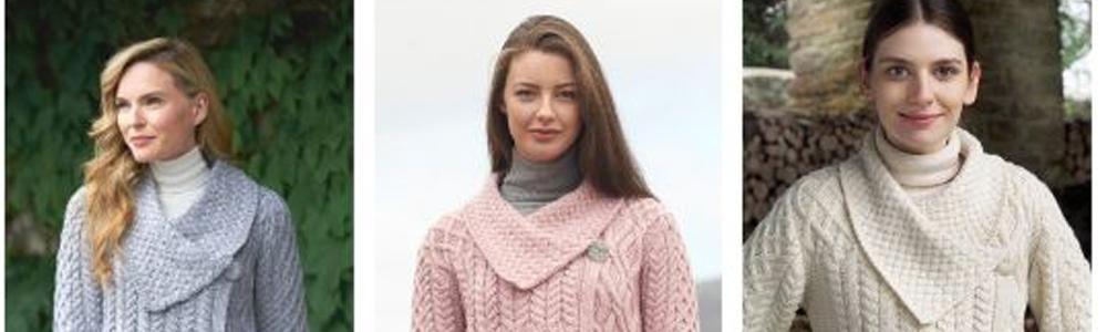 5 PERFECT ARAN SWEATERS FOR SPRING AND SUMMER