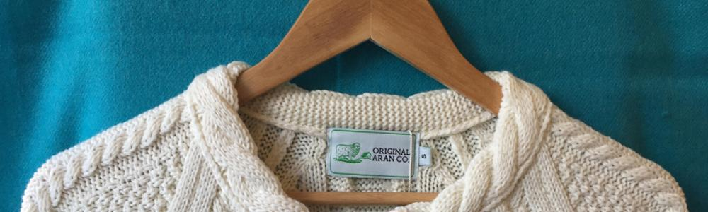THE ULTIMATE GUIDE TO THE ARAN SWEATER