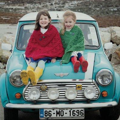 aran sweaters for children