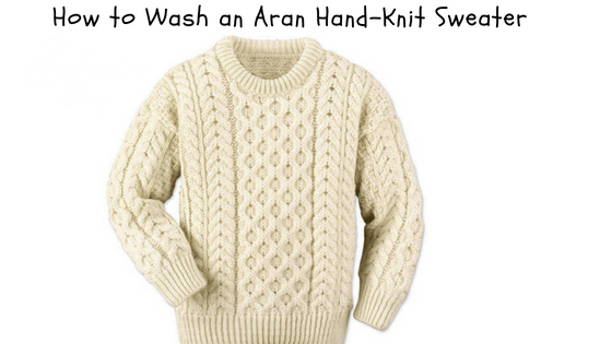 How To Take Care Of An Aran Sweater