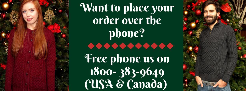 Free phone banner irish sweaters