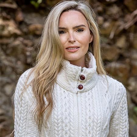 aran sweater womens